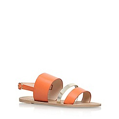 Carvela - Orange 'Binky' flat sandals
