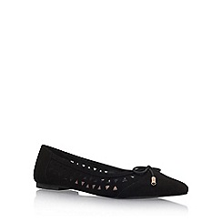 Miss KG - Black 'Mitsie' flat pumps