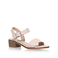 Miss KG - Natural 'Pablo' low heel sandal