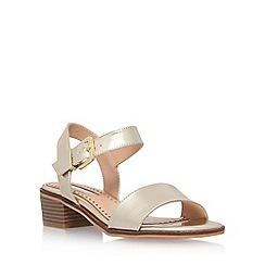 Miss KG - Gold 'Pablo' low heel sandal