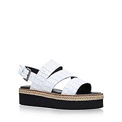 Carvela - White 'Kat' flat sandal
