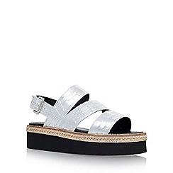 Carvela - Silver 'Kat' platform sandal