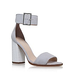 Carvela - Grey 'Komet' high heel sandal