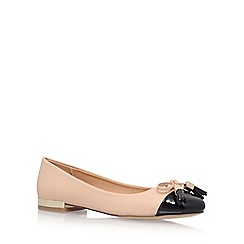 Miss KG - Natural 'Meena' Flat Ballerina Pumps