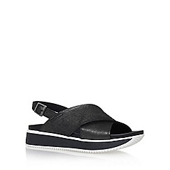 Carvela - Black 'Kaster' flat sandals