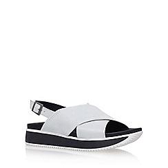 Carvela - Silver 'Kaster' flat sandals