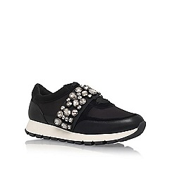 KG Kurt Geiger - Black Lovely Flat Lace Up Sneakers