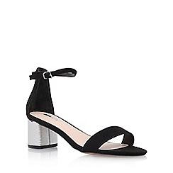 Carvela - Black 'Kandle' high heel sandals