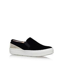 Miss KG - Black 'Layton' Flat Slip On Sneakers