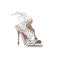 KG Kurt Geiger - White 'Horatio' high heel sandals