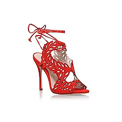 KG Kurt Geiger - Red horatio high heel sandals