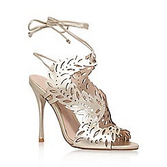 KG Kurt Geiger - Gold 'Horatio' high heel sandals