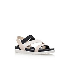Nine West - Natural 'Zengen' flat sandals