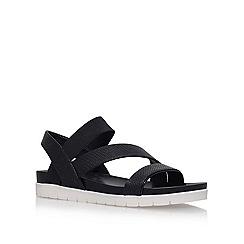 Nine West - Black 'Zengen3' flat sandals