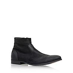 KG Kurt Geiger - Black 'Reece' flat chelsea boots