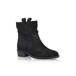 Carvela - Black 'Stash' low heel boot