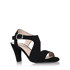 Carvela Comfort - Black 'Simona' high heel sandals