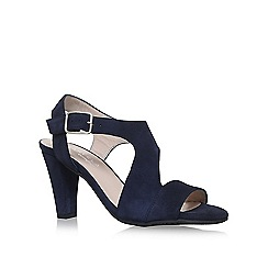 Carvela Comfort - Blue 'Simona' high heel sandals