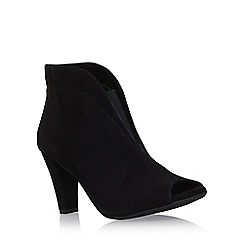 Carvela Comfort - Black 'Rachel' high heel ankle boot