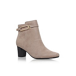 Solea - Brown 'Tilly' high heel ankle boots