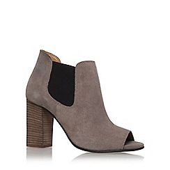 Carvela - Brown 'Amy' high heel ankle boots