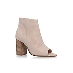 Carvela - Brown 'Accord' high heel ankle boots