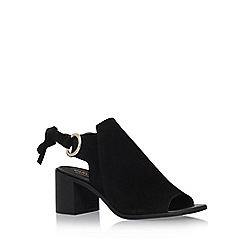 Carvela - Black 'Ardent' high heel sandals