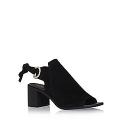 Carvela - Black 'Ardent' high heel sandals