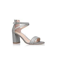Carvela - Silver 'Grasp' high heel sandal