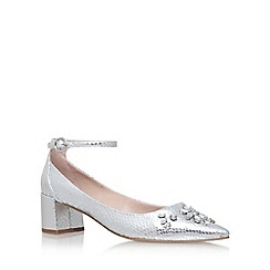 Carvela - Silver 'Grand' high heel sandals