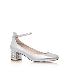 Carvela - Silver 'Guess' high heel sandal