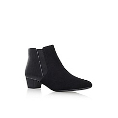 Solea - Black 'Tessa' high heel ankle boots