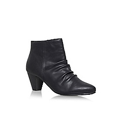 Solea - Black 'Tide' high heel ankle boots