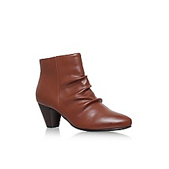 Solea - Brown 'Tide' high heel ankle boots