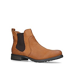 Carvela - Tan 'Solid' flat ankle boots