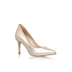 KG Kurt Geiger - Champagne 'Bella' high heel court shoe