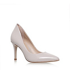 KG Kurt Geiger - Natural Bella High Heel Court Shoes