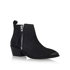 Carvela - Black 'Shooter' Flat Ankle Boots