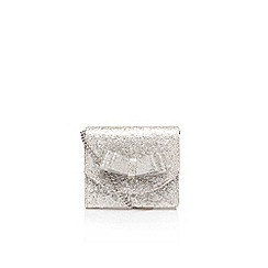 Miss KG - Silver 'Tobi' handbag with shoulder straps
