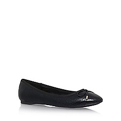 Carvela - Black 'Melody2' Flat Slip On Pumps