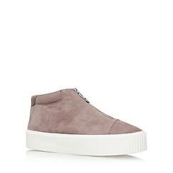 Carvela - Brown Little Flat Slip On Sneakers
