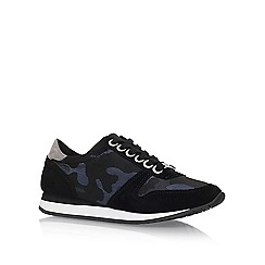 Carvela - Blue 'Libby' flat lace up sneakers