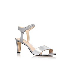 Nine West - Silver 'Durante3' High Heel Sandals