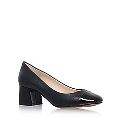 Nine West - Black 'Zipzap' High Heel Court Shoes