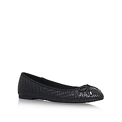 Miss KG - Black 'Nellie' Flat Ballerina Pumps