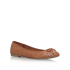 Miss KG - Brown 'Nellie' Flat Ballerina Pumps