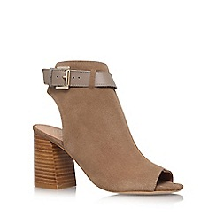 KG Kurt Geiger - Brown 'Ripple' high heel sandal