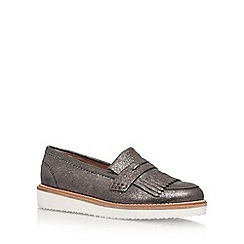 KG Kurt Geiger - Metal 'Kooper' Low Heel Slip On Loafers