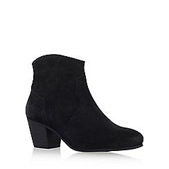 KG Kurt Geiger - Black 'Sunny' high heel ankle boot