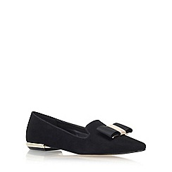 Carvela - Black 'Major' Flat Slip On Loafers
